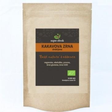 Kakavova zrna drobljena iz ekološke pridelave