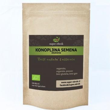 Konopljina semena (oluščena) iz ekološke pridelave