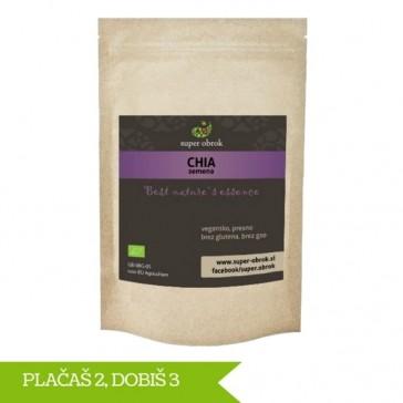Paket Chia semena 3 za 2 iz ekološke pridelave