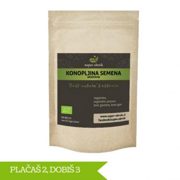 Konopljina semena (oluščena) iz ekološke pridelave 3 za 2