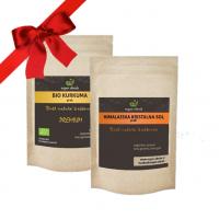 Zmagovalni paketi (Himalajska sol in BIO Kurkuma)