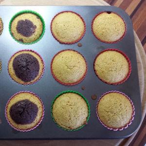 Koruzni muffini z banano